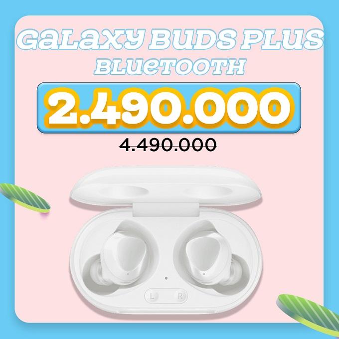 Tai nghe không dây Galaxy Buds Plus giảm 44%