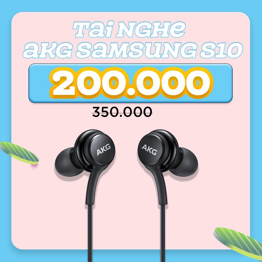 Tai nghe AKG Samsung Galaxy S10 giảm thêm đến 42%