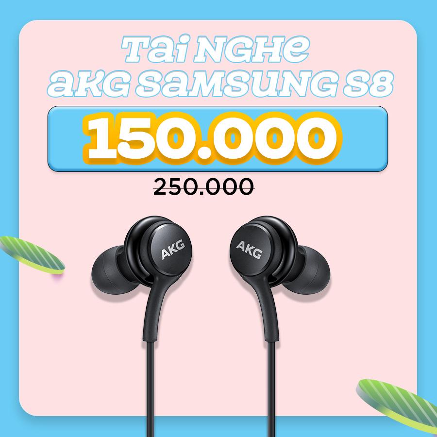 Tai nghe AKG Samsung Galaxy S8 giảm thêm đến 52%