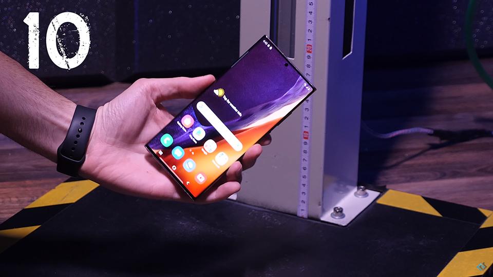 Thử nghiệm thả rơi Galaxy Note 20 series, kết quả mang lại đáng kinh ngạc