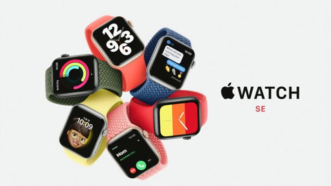 thiết kế trên Apple Watch SE khá giống với Apple Watch series 5