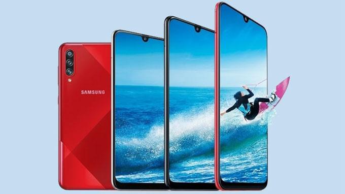 Samsung Galaxy A70s thu hút người dùng ngay từ ánh nhìn đầu tiên khi sở hữu thiết kế cao cấp
