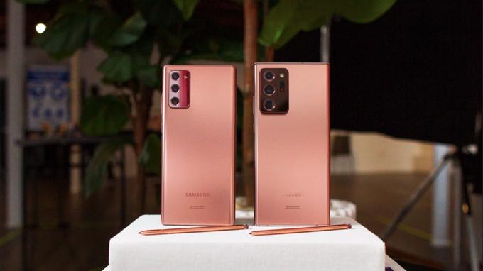 Thiết kế Galaxy Note 20 và Galaxy Note 20 Ultra đẹp không tỳ vết