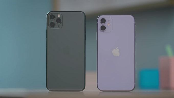 Phone 11 Pro giá rẻ cũng được sở hữu thiết kế hoàn toàn mới