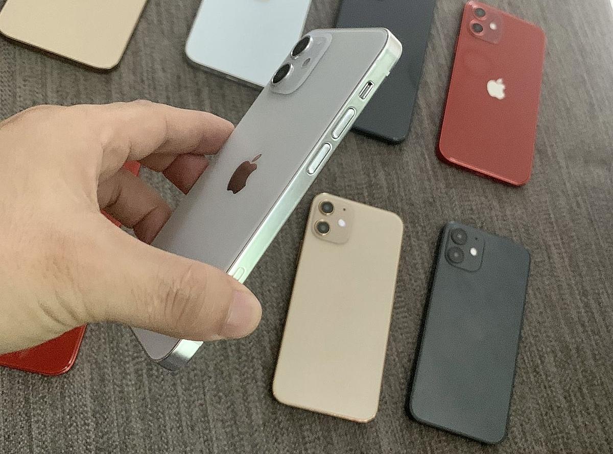 Thiết kế iPhone 12 mini 64GB được lấy cảm hứng từ ngôn ngữ thiết kế iPhone 4
