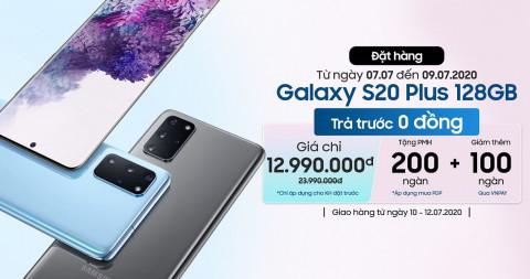 Deal cực sốc: Galaxy S20 Plus 128GB công ty giảm gần nửa giá, chỉ còn dưới 13 triệu