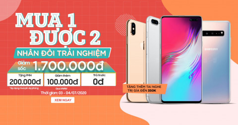 Giá Galaxy S10 5G, iPhone Xs Max và iPhone 7 Plus chạm đáy khi giảm đến 1.7 triệu đồng