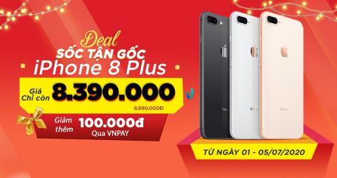 Giá iPhone 8 Plus giảm cực sốc chỉ từ 8,3 triệu, rút ngắn khoảng cách với iPhone 8
