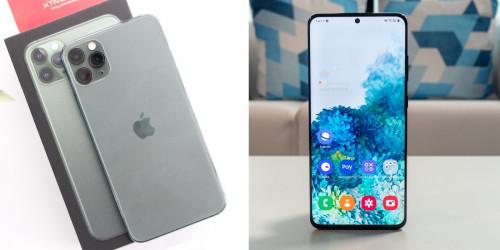 So sánh Galaxy S20 và iPhone 11 Pro: Nên mua điện thoại nào?