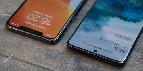 So sánh thông số kỹ thuật dòng Galaxy S20 và dòng iPhone 11