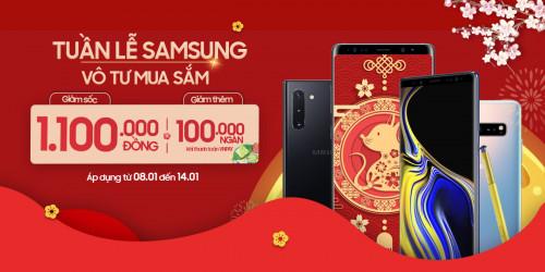Tuần lễ Samsung: Mua Galaxy Note 10 5G, Note 8 giảm đến 1.1 triệu