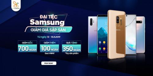 Đại tiệc Samsung – Mua Galaxy Note 8 giảm giá lên tới 800k