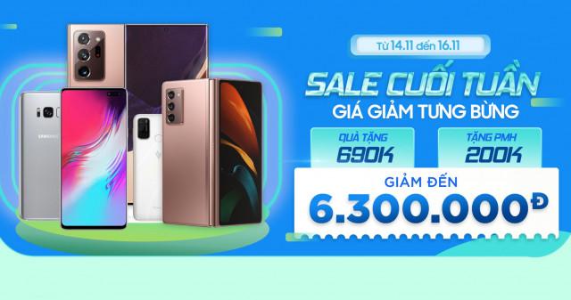 Hot Deal: Mua Galaxy Note 20 Ultra, Z Fold 2 và S10 5G giảm thêm đến 6.3 triệu