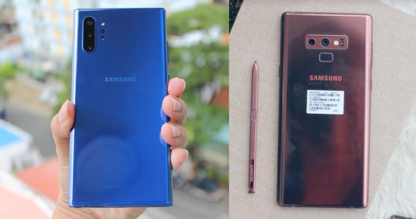 So sánh Galaxy Note 10 Plus và Note 9: Flagship năm nay có đáng mua?