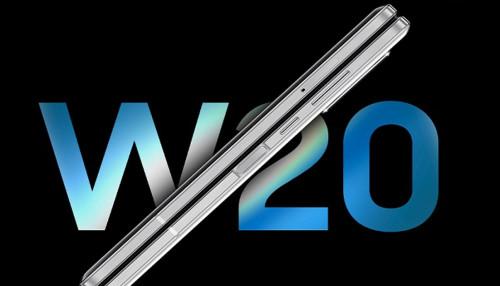 Samsung W20 ra mắt: Màn hình gập, chip Snapdragon 855 Plus