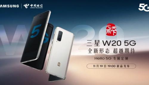 Samsung Galaxy W20 5G màu trắng lộ diện trong video mới