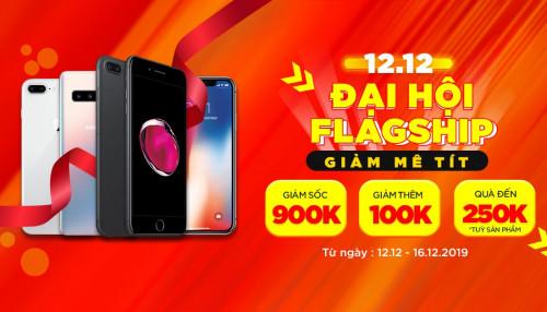 iPhone 7 Plus, Galaxy S10 5G, LG V40 giảm đến 900K, mua là có quà