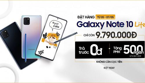 Hot deal cho Galaxy Note 10 Lite 128GB: Cấu hình flagship, pin 4500mAh lớn nhất dòng Note 10 nhưng giá chỉ 9,79 triệu