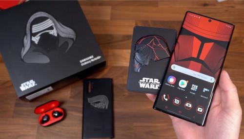 Mở hộp Galaxy Note 10 Plus phiên bản Star Wars có gì?