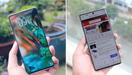 So sánh Galaxy S10 và Galaxy Note 10: Phiên bản flagship nào hấp dẫn với bạn hơn?