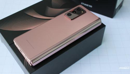 Chiêm ngưỡng hình ảnh Galaxy Z Fold 2 5G: Sức hút không chỉ từ ngoại hình