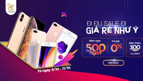 Hot sale: Mua iPhone Xs Max, iPhone 8 Plus giảm thêm đến 500K