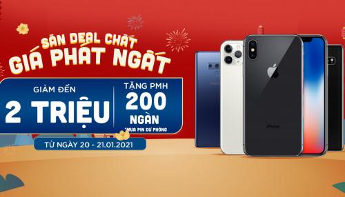 Săn deal hot: Mua iPhone 11 Pro, Galaxy S10 5G giảm đến 2 triệu đồng, quà tặng trị giá 200K