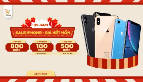 Sale iPhone - Giá hết hồn: Ưu đãi lên đến 850K tại XTmobile