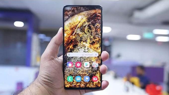 Galaxy A51 với viên pin 4000mAh