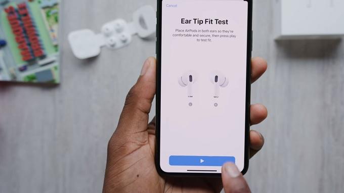 Hiệu chỉnh tai nghe AirPods dễ dàng hơn
