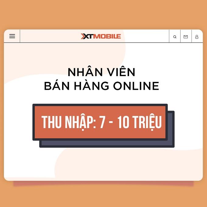 XTmobile tuyển dụng nhân viên bán hàng online