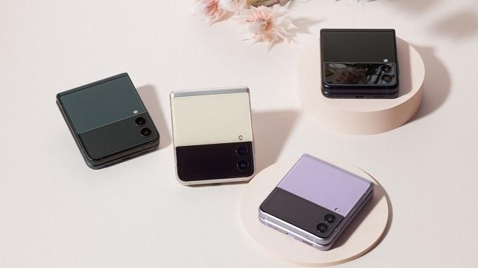 Galaxy Z Flip3 5G mang đến nhiều tùy chọn màu sắc ấn tượng
