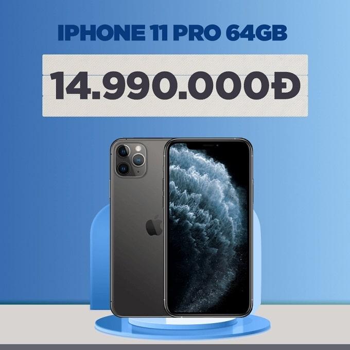 iPhone 11 Pro 64GB cũ giảm thêm 2.600.000đ