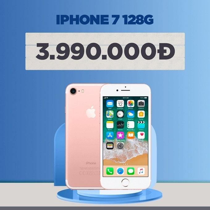 iPhone 7 128GB cũ giảm thêm 1.000.000đ