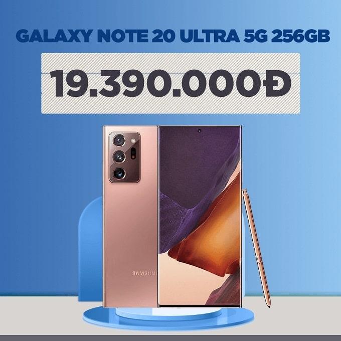 Galaxy Note 20 Ultra 5G 256GB (CTY BHĐT) giảm thêm 3.600.000đ