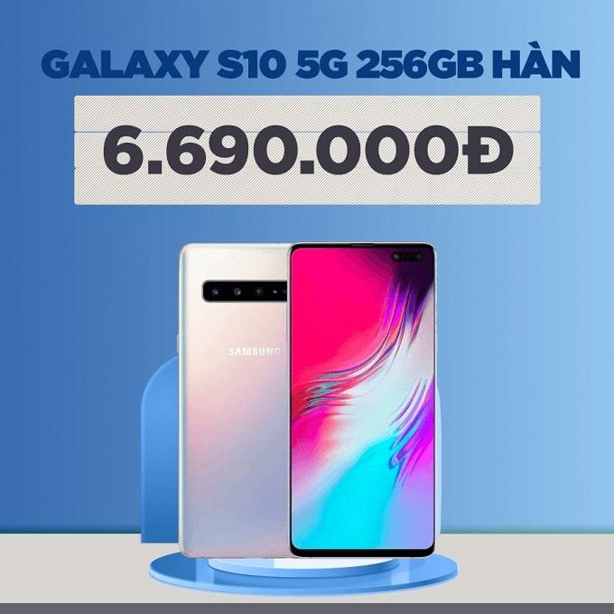 Galaxy S10 5G 256GB Hàn cũ giảm thêm 1.300.000đ