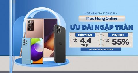 Mua Online nhiều ưu đãi: iPhone 11 Pro Max, Galaxy Note 20 Ultra giảm đến 4.4 triệu