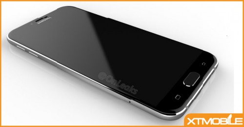 Samsung Galaxy A8 (2016) lộ ảnh chi tiết: mỏng hơn so với Note 7, thiết kế mặt kính và kim loại.
