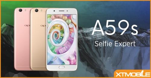 Mẫu điện thoại mới Oppo A59s camera selfie 16 MP, 4 GB được TENNA xác nhận