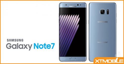 Galaxy Note 7 sẽ được Samsung tái sinh lần nữa