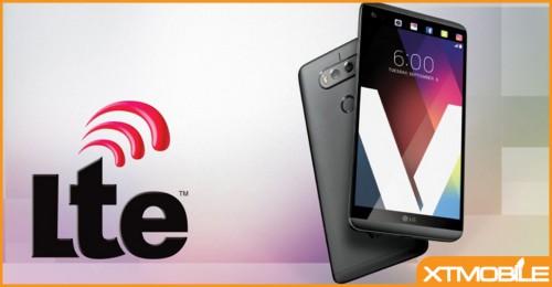 LG V20, chiếc đoạn thoại đầu tiên hỗ trợ AWS-3 LTE.