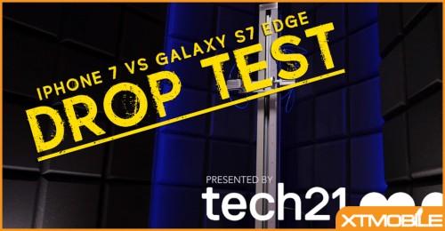 Drop test iPhone 7 và Galaxy S7 Edge: Apple sấp mặt trước Samsung.
