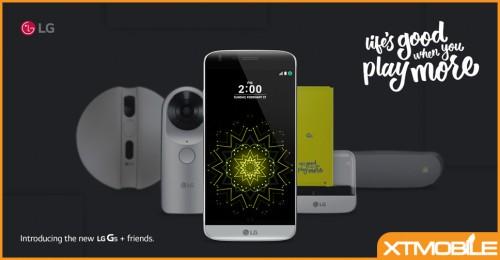 LG G5 giá chỉ còn hơn 10 triệu, được tặng phụ kiện lên đến 4 triệu.