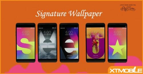 LG giới thiệu tính năng Signature Wallpaper trên LG V20
