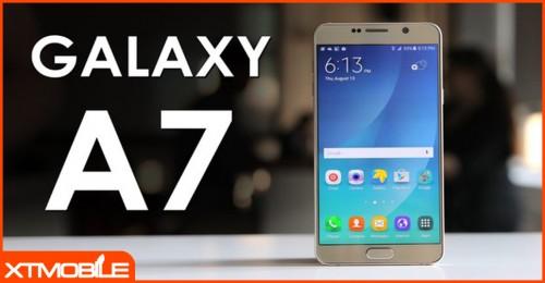 Galaxy A7 2017 - smartphone màn hình to, pin trâu chuyên cày game