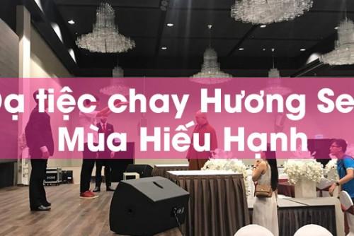 Dạ tiệc chay Hương Sen - Mùa Hiếu Hạnh