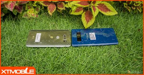 So sánh LG V30 và Note 8: V30 mạnh nhưng vẫn chưa đủ sức