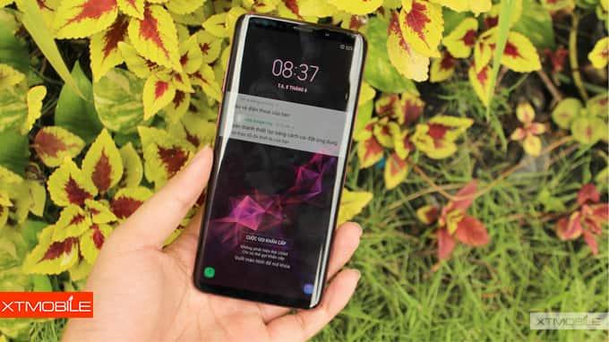 Màn hình Galaxy S9 xách tay Hàn Quốc lên tới 6.2 inch