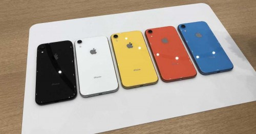 iPhone Xr 64GB cũ với 5 phiên bản màu mới nhất trông như nào?