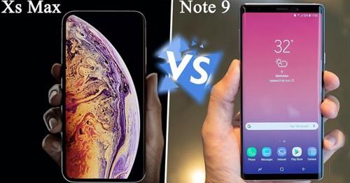 Galaxy Note 9 có tự tin chiến thắng iPhone Xs Max khi so kè về thời lượng pin?